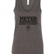 Never Satisfied V-Neck Tank