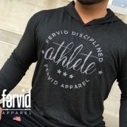 Disciplined Athlete Light Hoodie