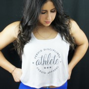 Disciplined Athlete Flowy Crop Top
