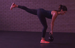 Kettlebell Workout That Helps Sculpt a Stronger Booty