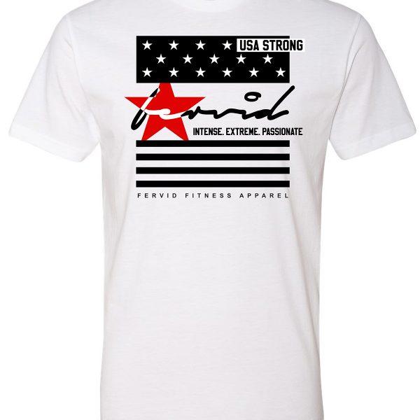 USA Strong Crew Tee