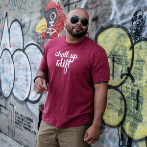 Chalk Up and Lift Tee