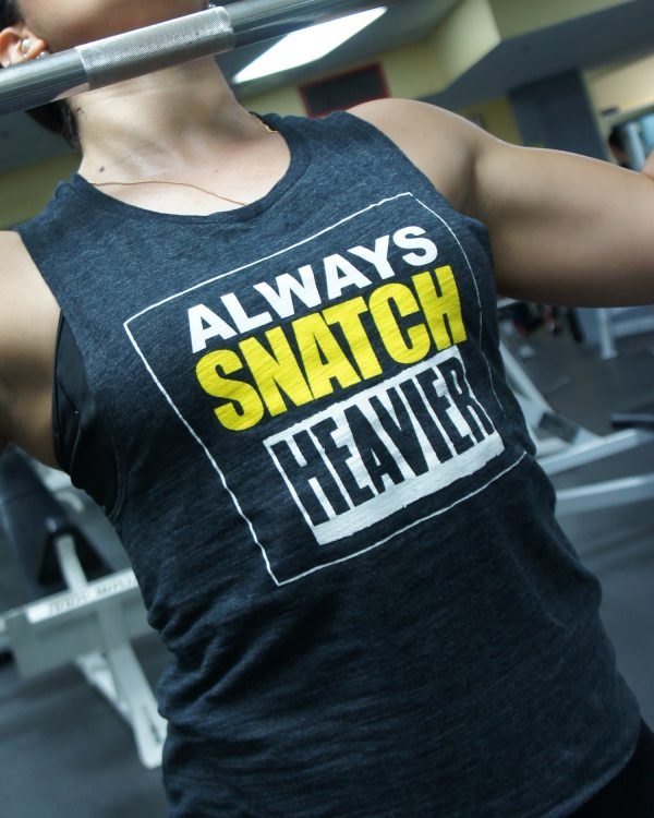 Snatch Heavier Muscle Tank